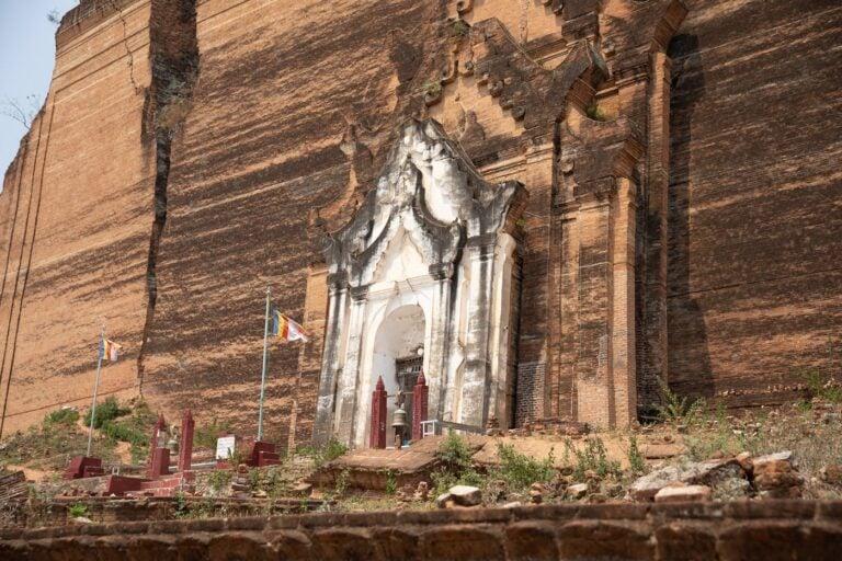 MINGUN PAHTODAWGYI PAGODA MYANMAR