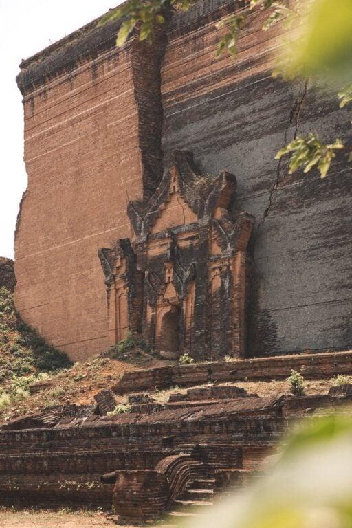 MINGUN PAHTODAWGYI PAGODA MYANMAR, MINGUN DAY TRIP