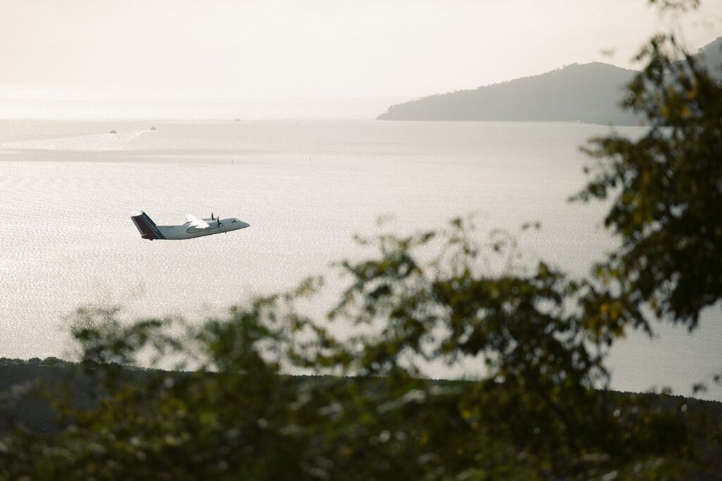 Cairns Airport View from Aeroglen Lookout