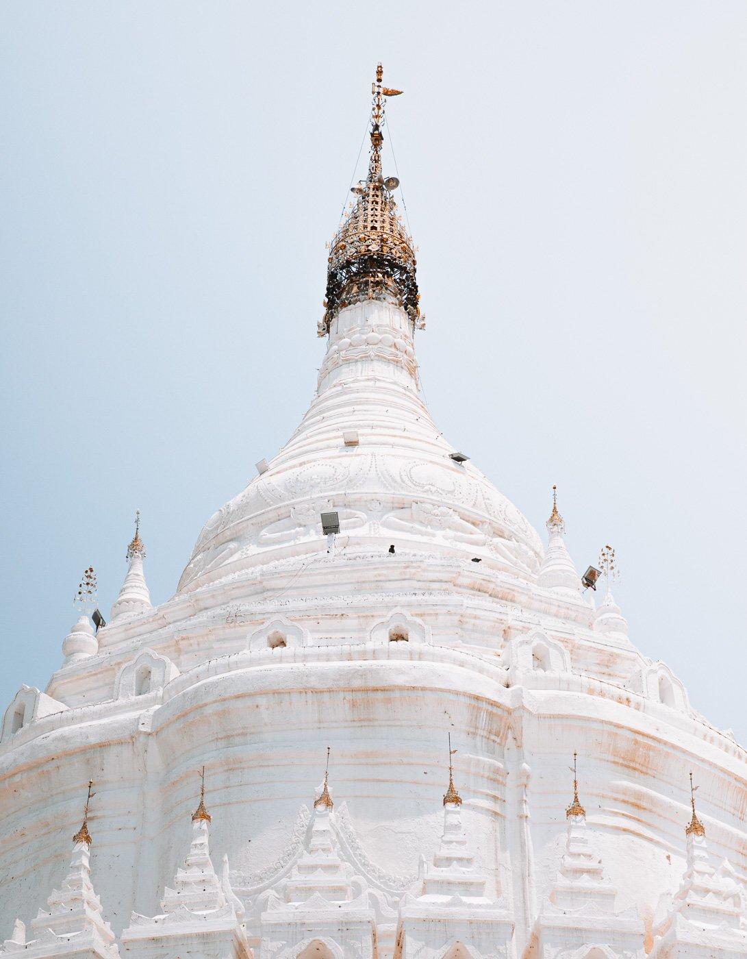 BEST THINGS TO DO IN MINGUN, MANDALAY, Hsinbyume Pagoda