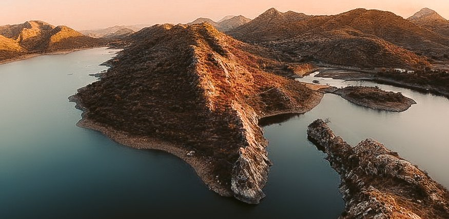 BAHUBALI HILL LAKE VIEWPOINT IN UDAIPUR