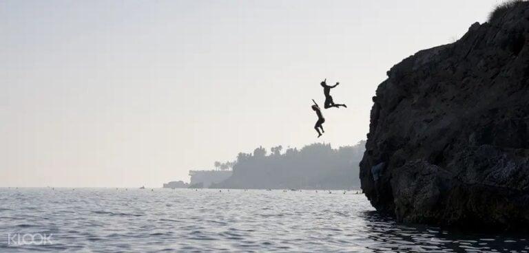 Cliff Jumping in Rishikesh
