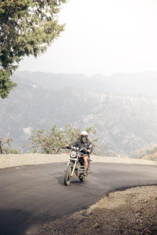 ROYAL ENFIELD MOTORBIKE IN RISHIKESH