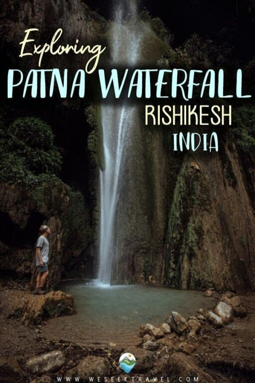EXPLORING PATNA WATERFALL RISHIKESH INDIA