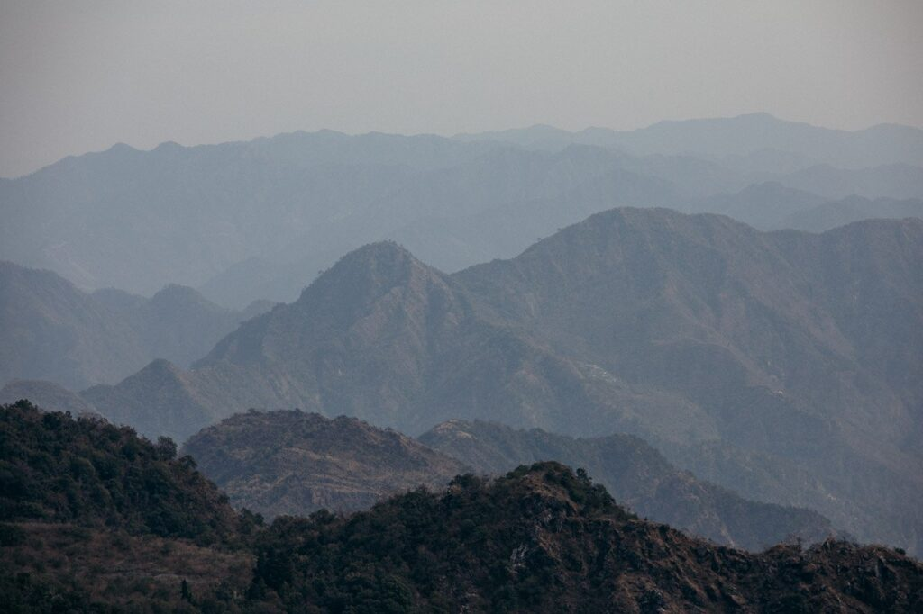 HIKING IN RISHIKESH MOUNTAINS