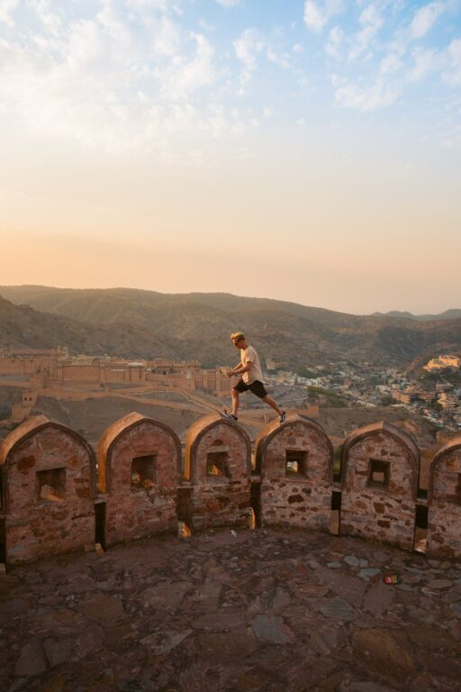SUNSET AT AMER FORT WALL