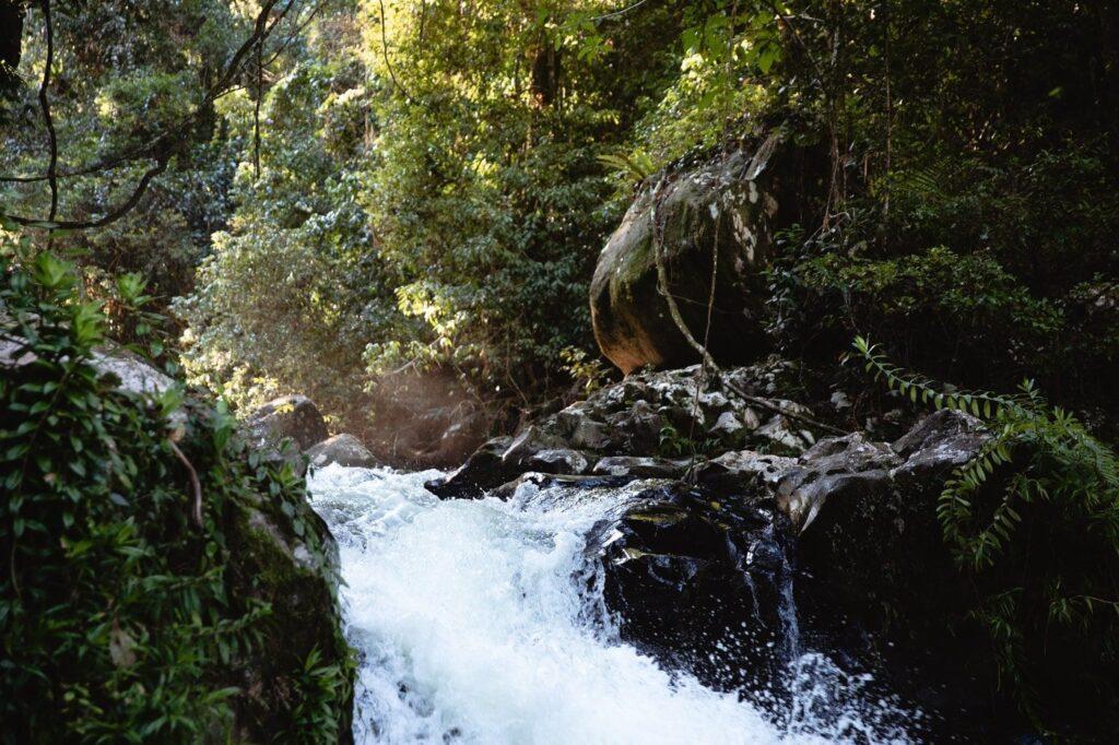 SOUITA FALLS WATERFALL