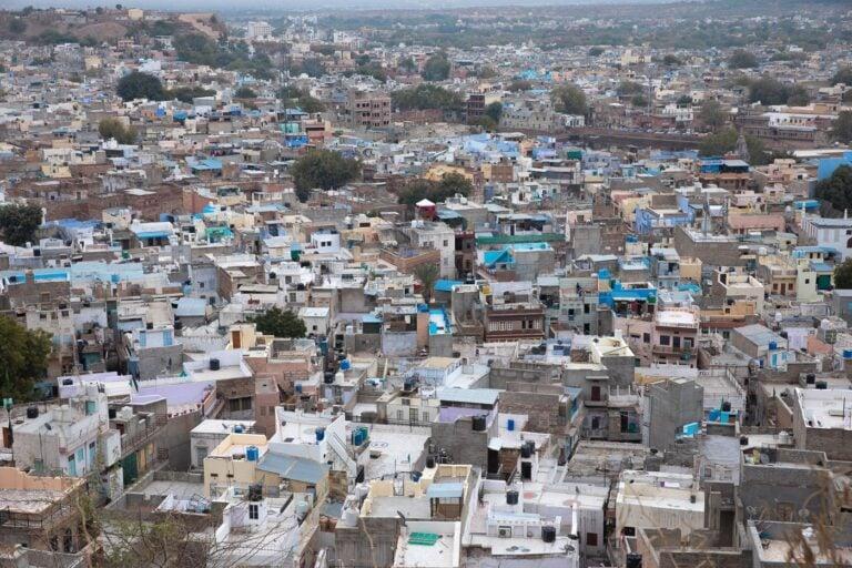 JODHPUR BLUE CITY RAJASTHAN
