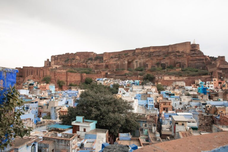 BLUE CITY AND FORT, RAJASTHAN, INDIA, Mehrangarh