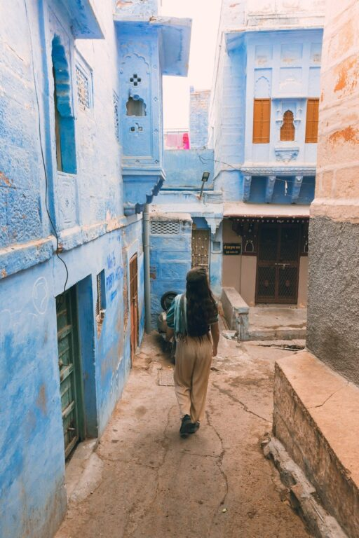WHERE TO FIND THE BLUE CITY IN JODHPUR