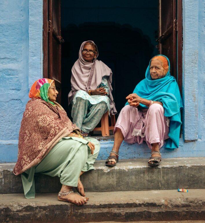 WOMEN OF THE BLUE CITY OF JODHPUR