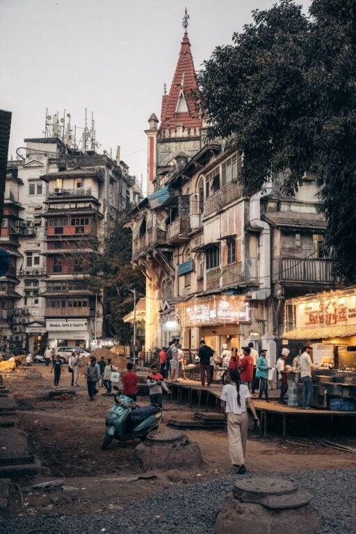EXPLORING COLABA IN MUMBAI INDIA