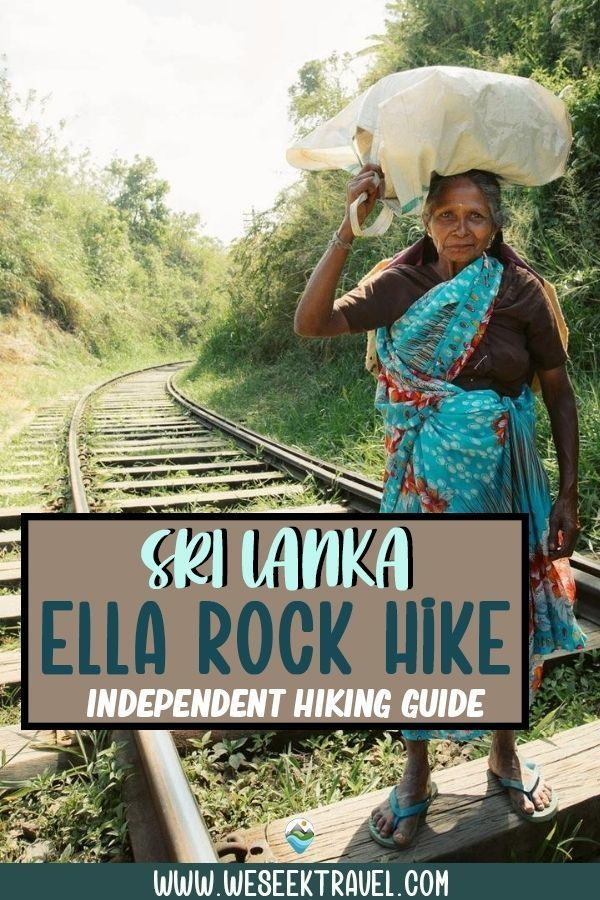 ELLA ROCK HIKE SRI LANKA INDEPENDENT HIKING GUIDE
