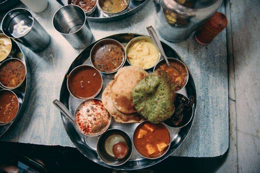 FOOD THALI IN MUMBAI, INDIA 1 MONTH ITINERARY