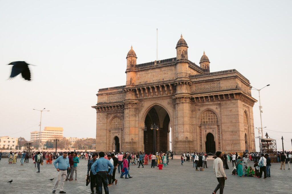 GATEWAY TO INDIA MUMBAI MONUMENT