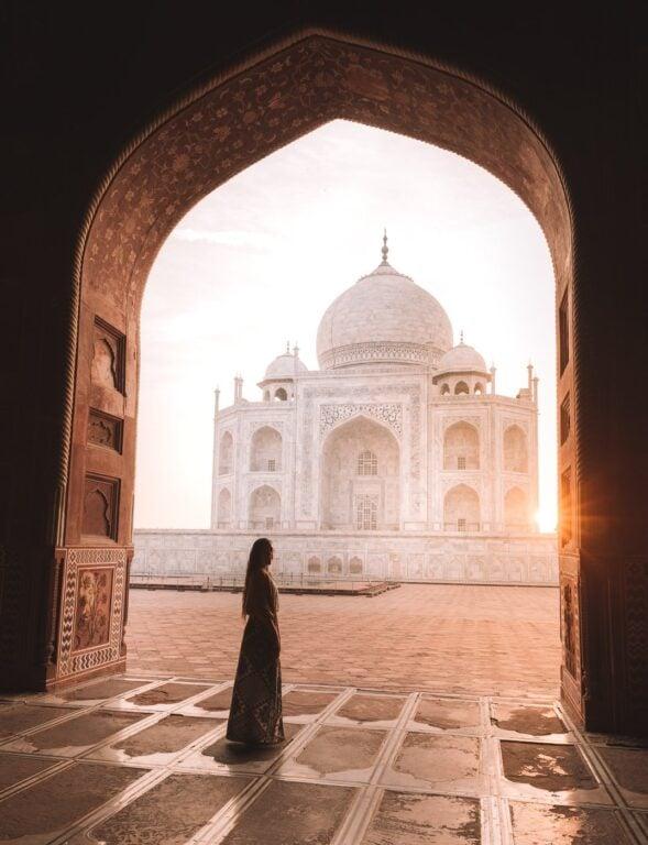 INDIA 1 MONTH ITINERARY PLAN, TAJ MAHAL AGRA