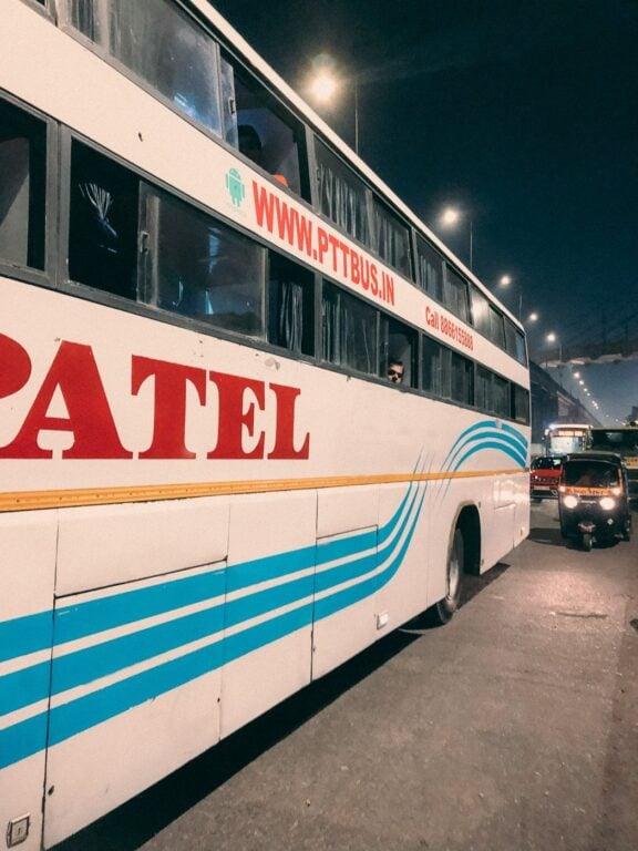 SLEEPER BUS TRAVEL IN INDIA