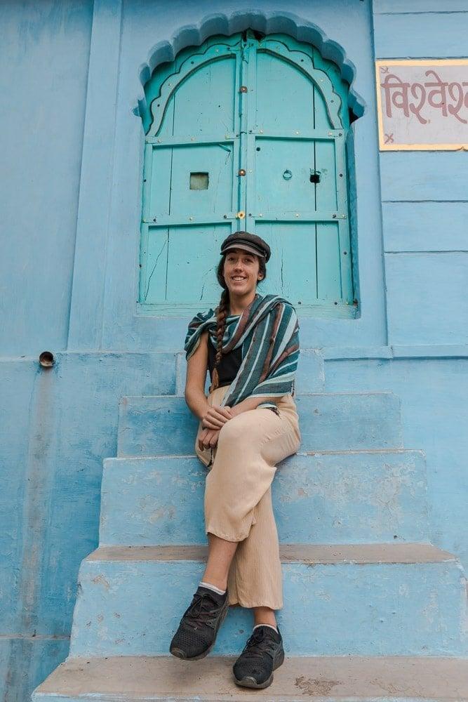 EXPLORING BLUE DOORWAYS IN RAJASTHAN