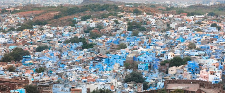 BLUE CITY JODHPUR, RAJASTHAN, INDIA
