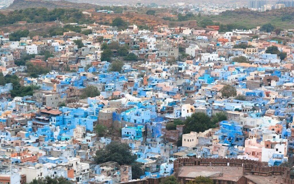 BLUE CITY JODHPUR, RAJASTHAN, INDIA