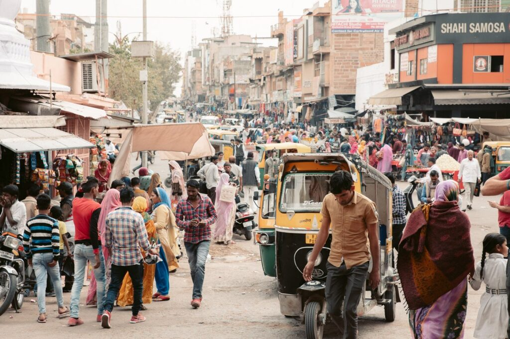 CLOCKTOWER STREET JODHPUR INDIA