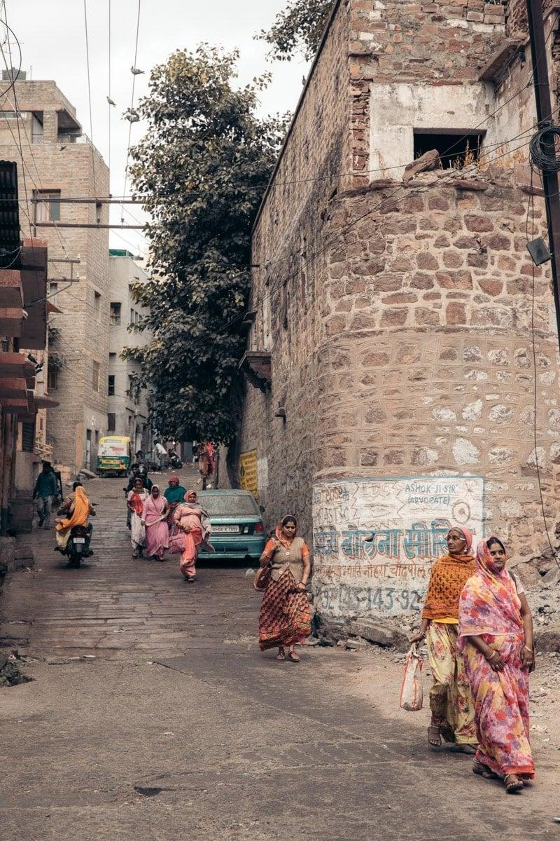 STREETS OF JODHPUR, INDIA
