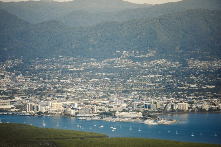 VIEW OF CAIRNS FROM MOUNT YARRABAH