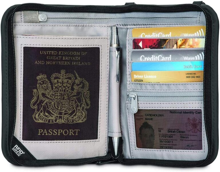 A GOOD PASSPORT WALLEET TO PACK FOR INDIA