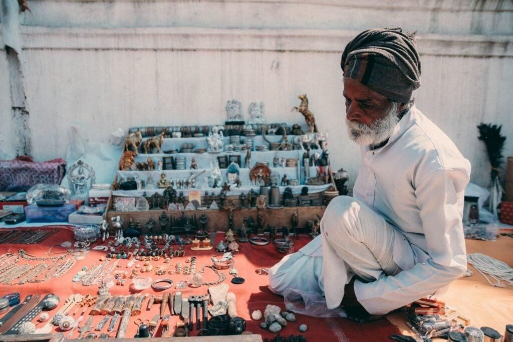 PUSHKAR MARKET IN RAJASTHAN INDIA