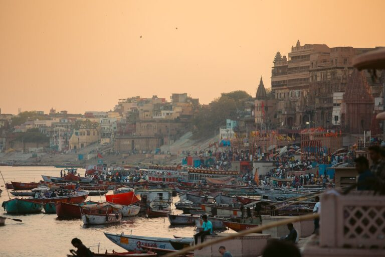 VARANASI GHATS FOR SUNRISE