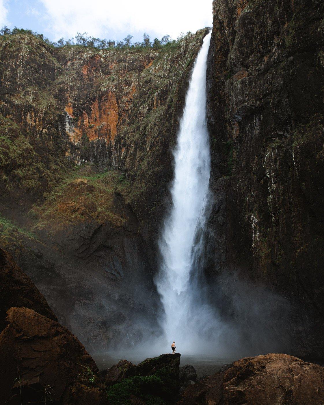 WALLAMAN FALLS WATERFALL Girringun National Park