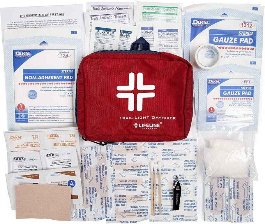 WHAT TO PACK FOR INDIA FIRST AID KIT