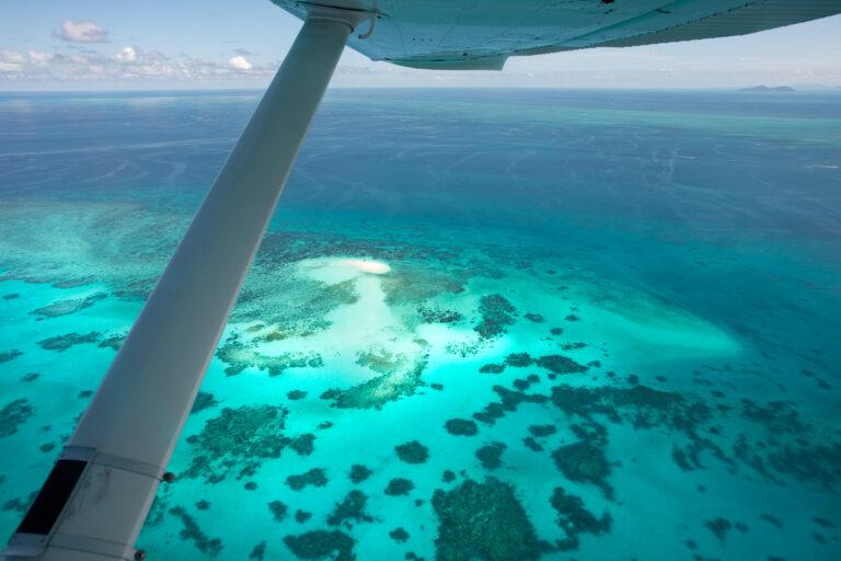Vlassoff Cay, Great Barrier Reef Plane Flight