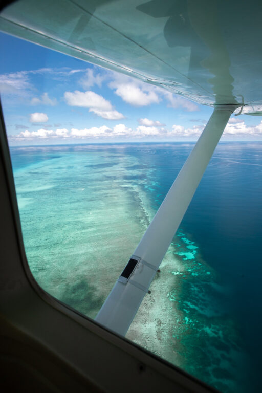 GBR Scenic Flight From Cairns