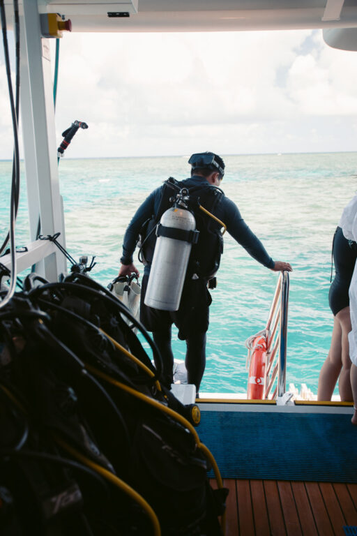 SCUBA DIVING AT SAXONS REEF AND HASTINGS REEF IN CAIRNS TRIP