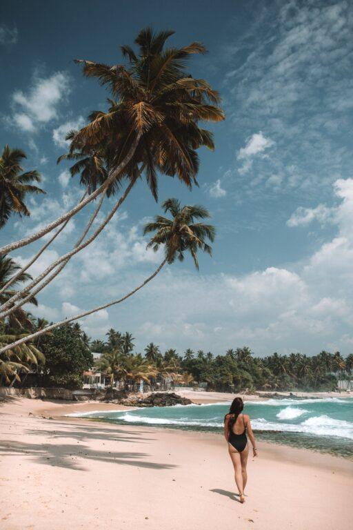BEACH ON WEST COAST SRI LANKA