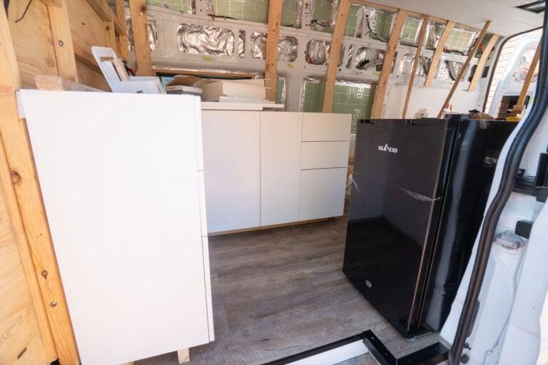 USING IKEA CABINETS IN A DIY VAN CONVERSION