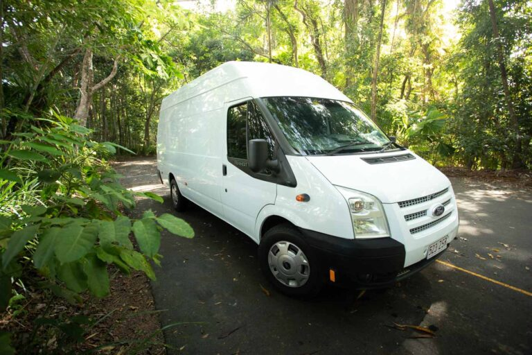 WE SEEK TRAVEL VAN BEFORE CONVERSION