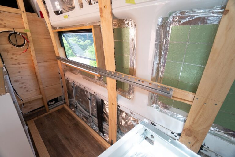 MOUNTING IKEA CABINETS IN A VAN