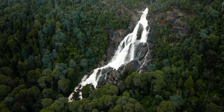 ST COLUMBA WATERFALL TASMANIA
