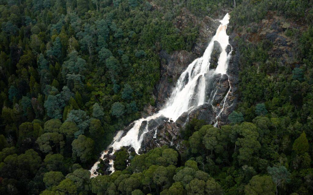 ST COLUMBA WATERFALL TASMANIA