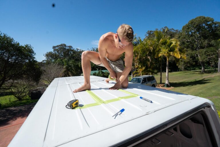 INSTALLING VAN ROOF VENTS IN AUSTRALIA