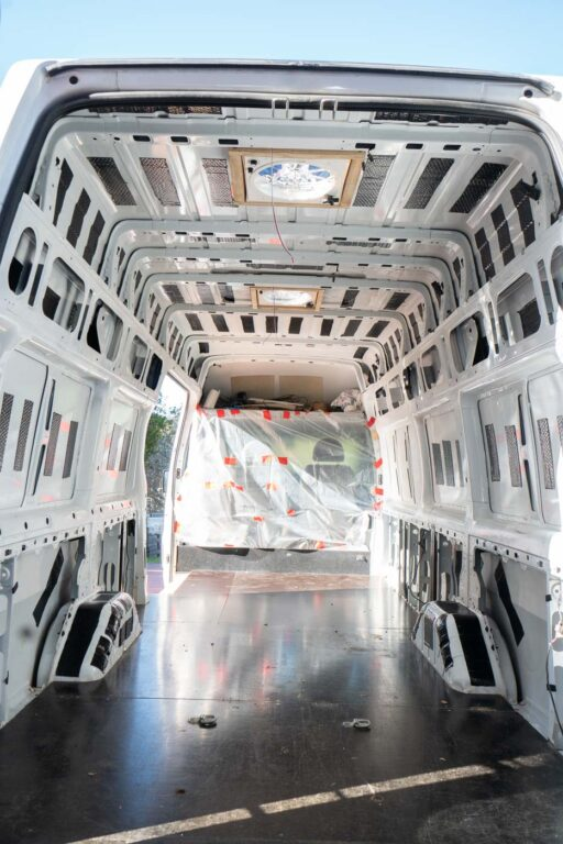 VAN SOUND DEADENING