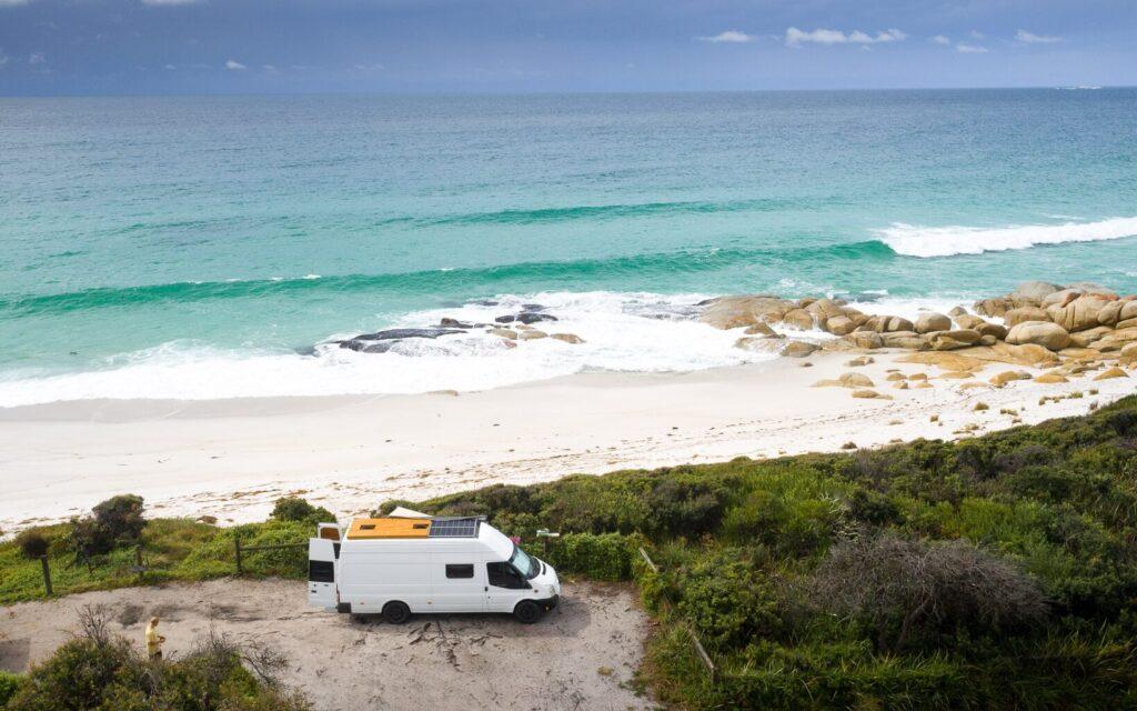 SWIMCART BEACH CAMP GROUND, VAN JOURNAL WEEK 2 WE SEEK TRAVEL VAN