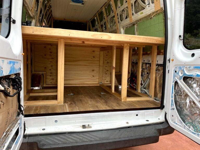 BUILDING A VAN PLATFORM BED