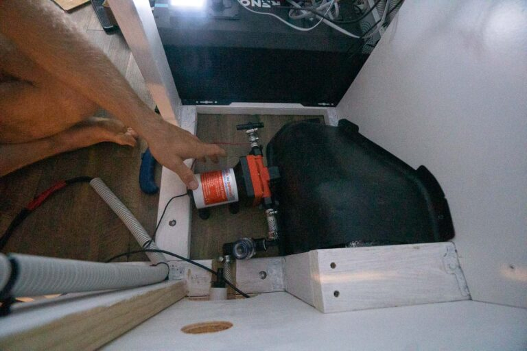 INSTALLING A 12V PUMP IN OUR DIY VAN CONVERSION
