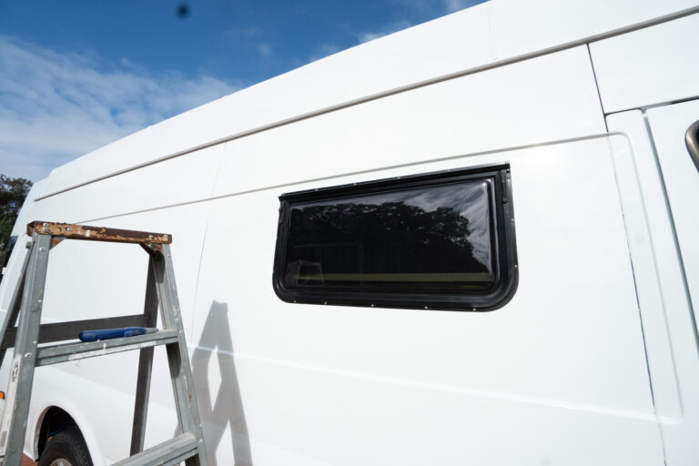 VAN WINDOW INSTALL