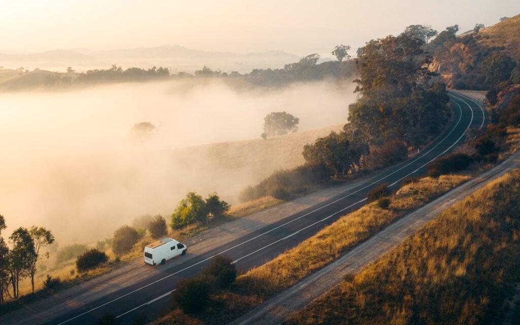 WE SEEK TRAVEL VAN ON THE ROAD IN VICTORIA FORD TRANSIT