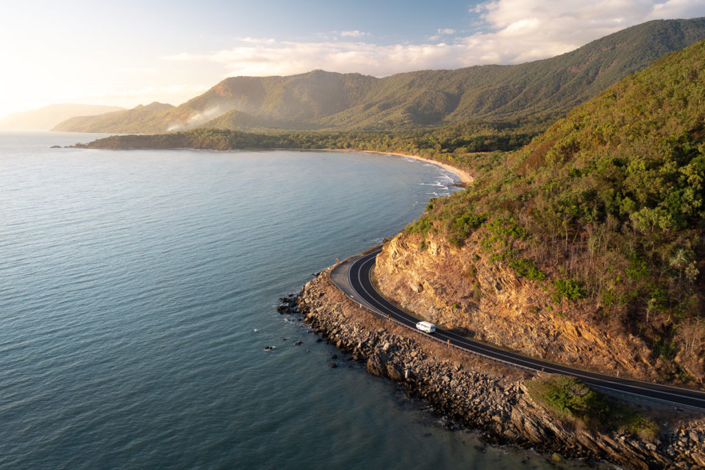 Great Barrier Reef Drive from Cairns to Cape Tribulation, Queensland Australia