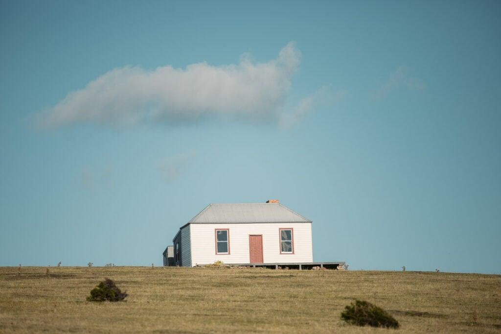 CONVICT HOUSES ON THE MARIA ISLAND CIRCUIT